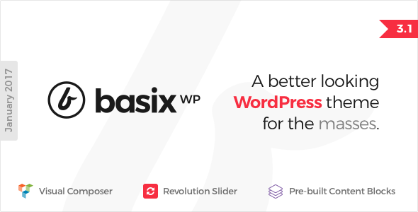 公司主题模板wordpress Basix